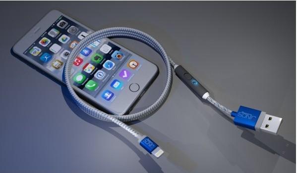 USB-кабель SONICable позволит зарядить смартфон в 2 раза быстрее обычного