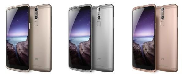 ZTE представила смартфон с аналогом технологии 3D Touch, что в iPhone 6s