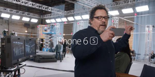 """""""On the Set"""" — новая реклама iPhone 6s с Джоном Фавро"""