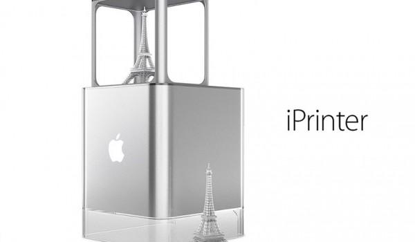 Концепт 3D-принтера Apple