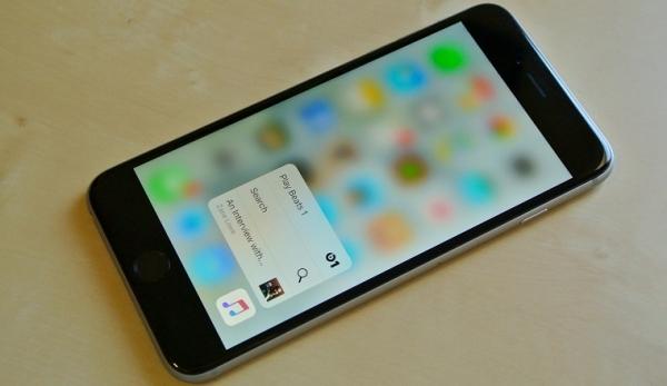 Apple рекомендует разработчикам не забывать про 3D Touch