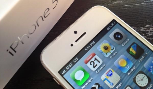 iPhone 5 начинает поддерживать российские частоты LTE