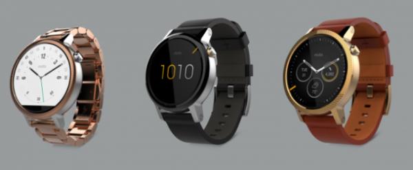 Moto 360 — стильные смарт-часы от Motorola на Android Wear