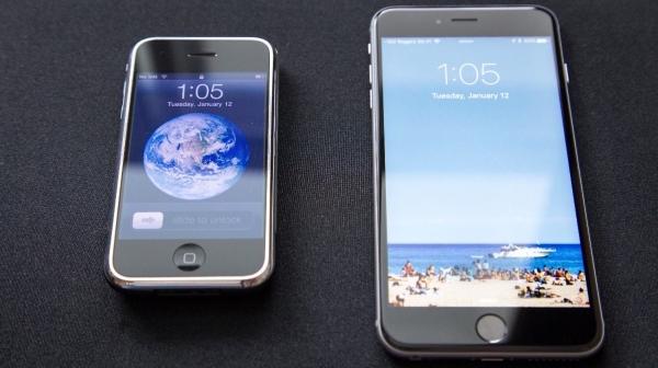 Как популярные сайты выглядят на первом iPhone