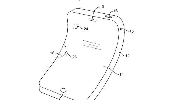 Apple получила патент на гнущийся iPhone