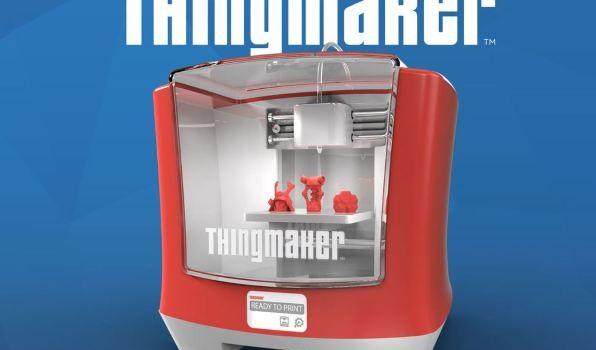 Семейный 3D-принтер Matel ThingMaker доступен для предварительного заказа